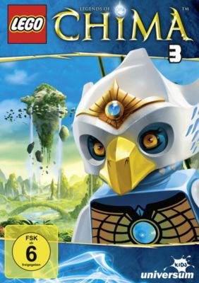 LEGO® Legends of Chima - DVD 3, John Derevlany, Tommy Andreasen, Thomas Sebastian Fenger