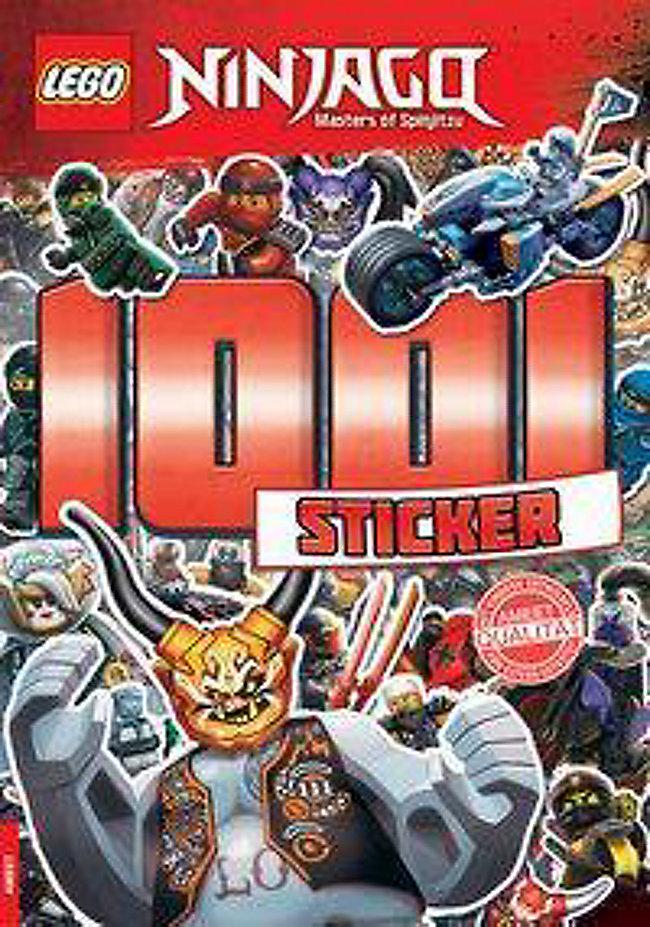 Lego Ninjago 1001 Sticker Buch Bei Weltbild At Online Bestellen