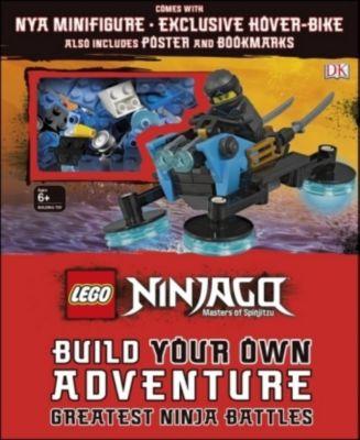 LEGO NINJAGO Build Your Own Adventure Greatest Ninja Battles, Dk