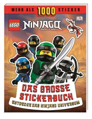 LEGO® NINJAGO® Das große Stickerbuch, Joseph Stewart
