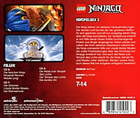 LEGO Ninjago Hörspielbox, 3 Audio-CD - Produktdetailbild 1