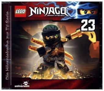 LEGO Ninjago, Masters of Spinjitzu, 1 Audio-CD, LEGO Ninjago-Masters of Spinjitzu