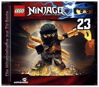 LEGO Ninjago, Masters of Spinjitzu, 1 Audio-CD, LEGO Ninjago-Masters of Spinjitzu