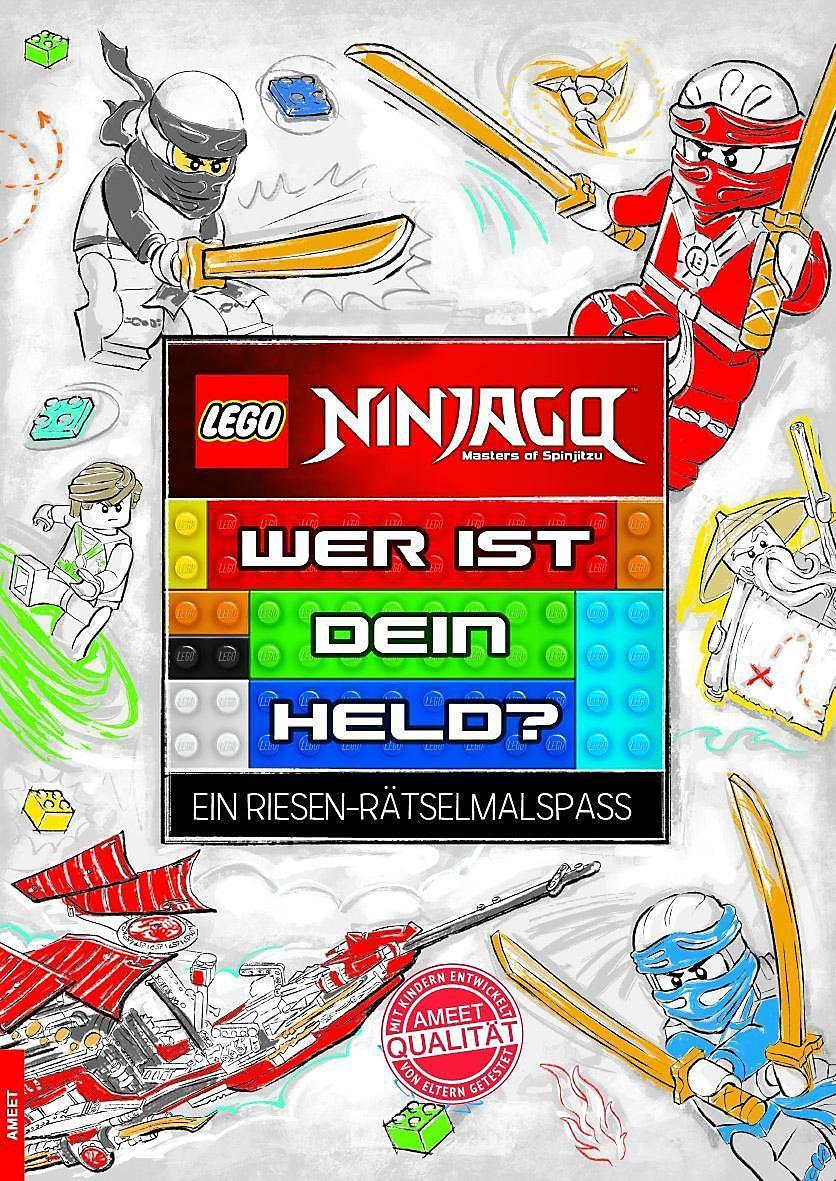 Lego Ninjago Wer Ist Dein Held Buch Bei Weltbild De Bestellen