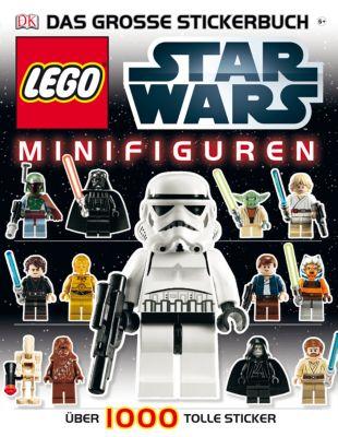 LEGO® Star Wars Minifiguren - Das große Stickerbuch
