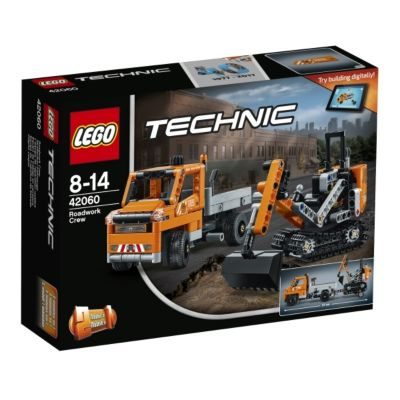 LEGO® Technic 42060 Straßenbau-Fahrzeuge, 365 Teile