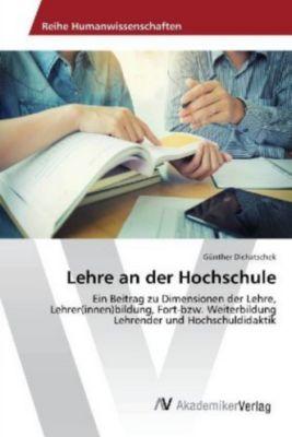 Lehre an der Hochschule - Günther Dichatschek  