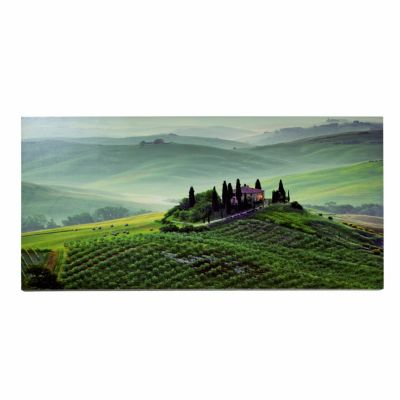 leinwand bild tuscany twilight 120 x 60 cm. Black Bedroom Furniture Sets. Home Design Ideas