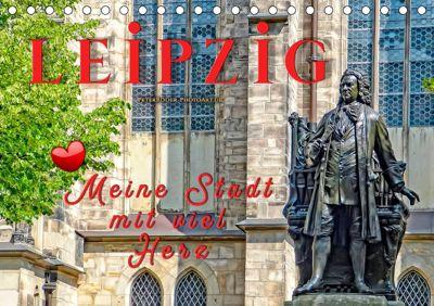 Leipzig - meine Stadt mit viel Herz (Tischkalender 2019 DIN A5 quer), Peter Roder