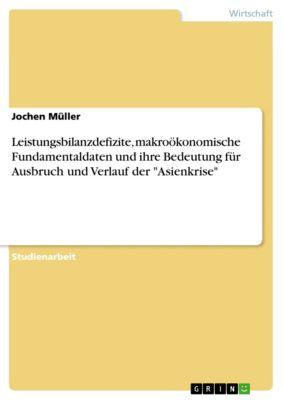 Leistungsbilanzdefizite, makroökonomische Fundamentaldaten und ihre Bedeutung für Ausbruch und Verlauf der Asienkrise, Jochen Müller