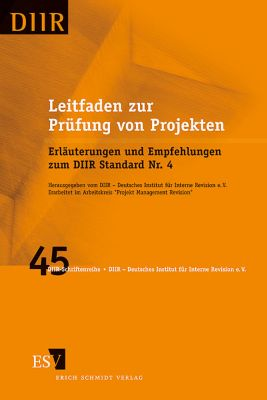 Leitfaden zur Prüfung von Projekten, Robert Düsterwald, Ulrich Schwarz, Kai Trinkaus, Michael Peis, Susanne Fries-Palm