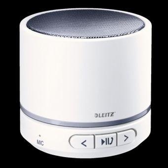 Leitz WOW Mini-Lautsprecher, weiß-grau