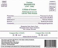 L'Elisir D'Amore (Ga) - Produktdetailbild 1