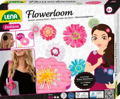 LENA Flowerloom - Wollblüten weben