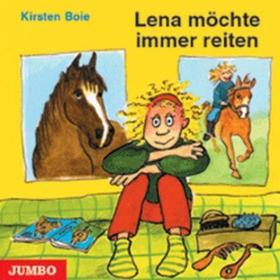 Lena möchte immer reiten, 1 Audio-CD, Kirsten Boie