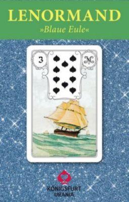 Lenormand-Karten Blaue Eule, Orakelkarten