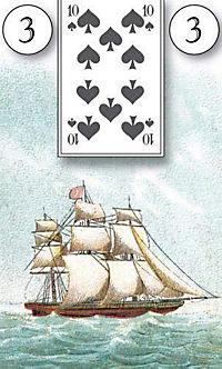 Lenormand Orakelkarten, Wahrsagekarten - Produktdetailbild 3