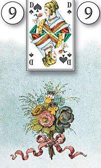 Lenormand Orakelkarten, Wahrsagekarten - Produktdetailbild 2