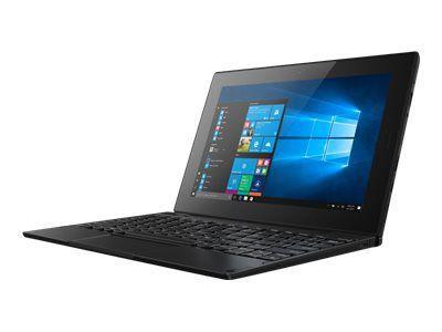 LENOVO Tablet 10 Intel Celeron N4100 25,6cm 10,1Zoll WUXGA Touch 4GB LPDDR4 64GB eMMC W10P64 4G LTE FPR Cam inkl. Keyboard Pen