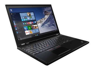 LENOVO ThinkPad P51 Xeon E3-1505Mv6 39,6cm 15,6Zoll UHD 2x8GB DDR4 512GB PCIe-SSD W10P64 NVIDIA Quadro M2200/4GB FPR Cam Topseller