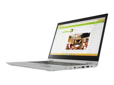 LENOVO ThinkPad Yoga 370 i5-7200U 33,8cm 13,3Zoll FHD Touch 8GB 256GB PCIe-SSD W10P64 4G LTE FPR Cam -silver- Topseller