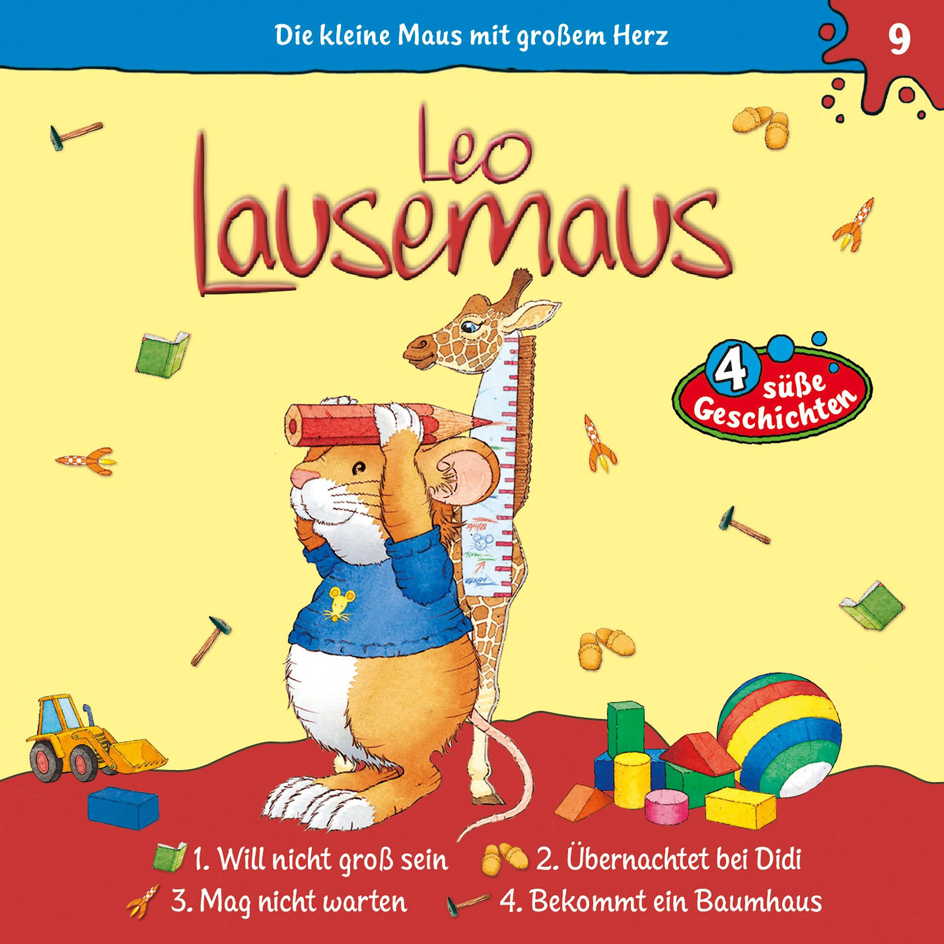 leo lausemaus: leo lausemaus - folge 9 hörbuch download