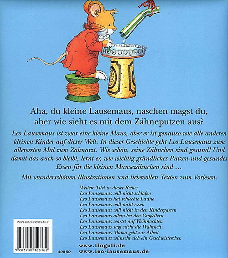 Leo Lausemaus Will Sich Nicht Die Zähne Putzen Buch