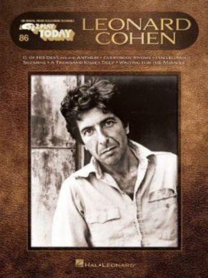 Leonard Cohen, piano, Leonard Cohen