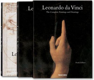 Leonardo da Vinci, 2 Bände, Frank Zöllner, Johannes Nathan