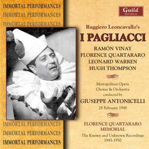 Leoncavallo/Pagliacci, Vinay, Warren, Antonicelli