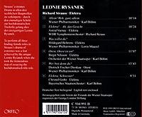Leonie Rysanek-Elektra 1953-96 - Produktdetailbild 1