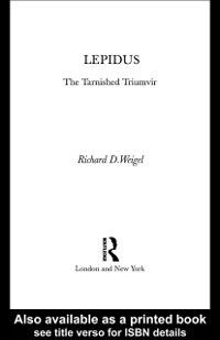 Lepidus, Richard D. Weigel