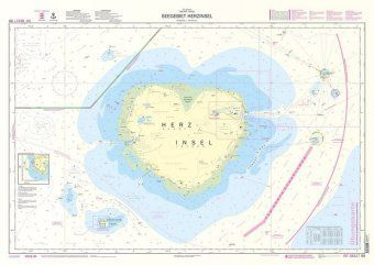 Lern-Seekarte 'Herzinsel' - Michael Schulze |