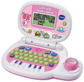 Lern und Musik Laptop pink, Lerncomputer