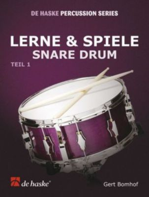 Lerne & Spiele Snare Drum, Gert Bomhof