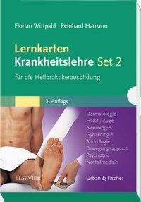 Lernkarten Krankheitslehre für die Heilpraktikerausbildung, Florian Wittpahl, Reinhard Hamann