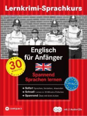 Lernkrimi-Sprachkurs Englisch für Anfänger, m. 2 Audio-CDs, Alison Romer