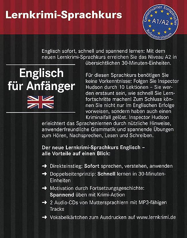 Lernkrimi Sprachkurs Englisch Für Anfänger M 2 Audio Cds Hörbuch
