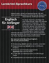 Lernkrimi-Sprachkurs Englisch für Anfänger, m. 2 Audio-CDs - Produktdetailbild 1