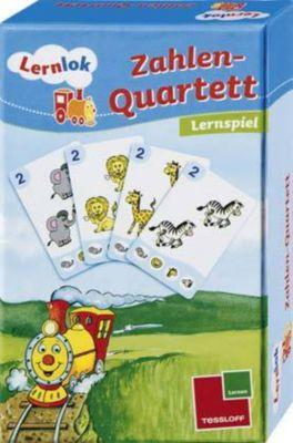 Lernlok - Zahlen-Quartett