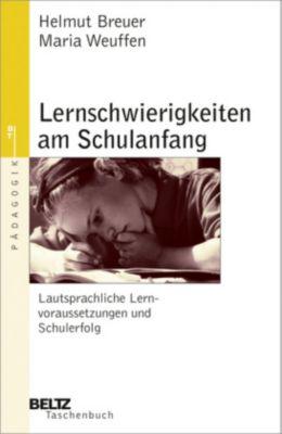 Lernschwierigkeiten am Schulanfang, Helmut Breuer, Maria Weuffen