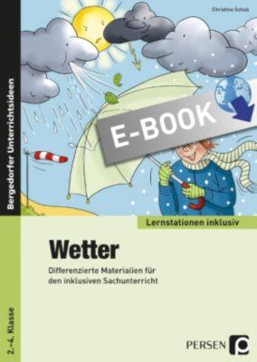 Lernstationen inklusiv: Wetter, Christine Schub