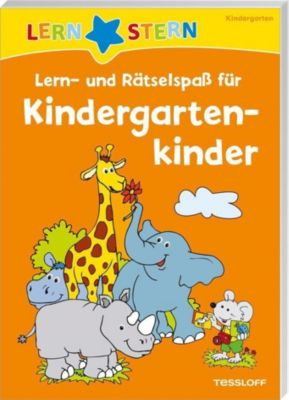 LERNSTERN Lern- und Rätselspaß für Kindergartenkinder