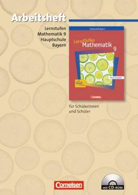 Lernstufen Mathematik, Hauptschule Bayern, Neue Ausgabe: 9. Jahrgangsstufe, Arbeitsheft m. CD-ROM (Regelklassen)