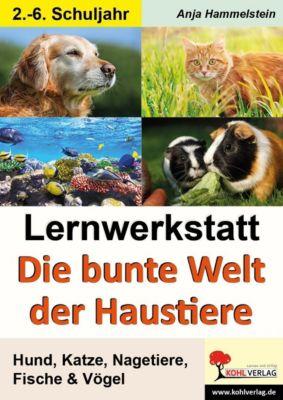 Lernwerkstatt Die bunte Welt der Haustiere, Anja Hammelstein
