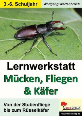 Lernwerkstatt Mücken, Fliegen und Käfer, Wolfgang Wertenbroch