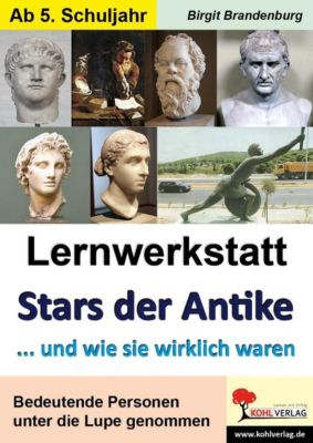 Lernwerkstatt Stars der Antike, Birgit Brandenburg