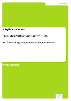 Les Miserables von Victor Hugo, Sibylle Brockhaus