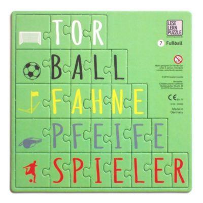 Leselernpuzzle 07. Fußball