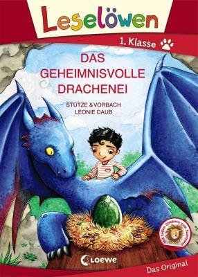 Leselöwen 1. Klasse - Das geheimnisvolle Drachenei, Stütze & Vorbach